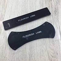 Универсальный держатель коврик для телефона Flourish Lama нанолипучка Black