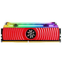 Модуль памяті для компютера DDR4 8GB 3000 MHz XPG Spectrix D80 Red ADATA (AX4U300038G16-SR80)