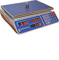Весы торговые электронные Днепровес F902H-15EL1 (CL1)