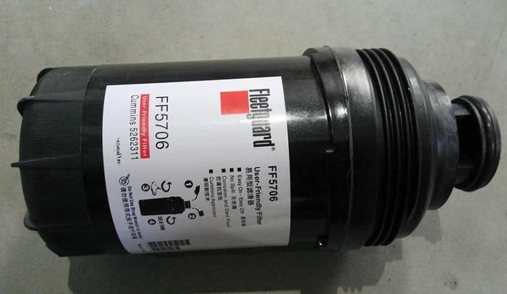 Фільтр паливний FF5706 Foton 1069 cummins, фото 2