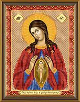 Схема для вышивки бисером Богородица Помощница в родах БИС 5048