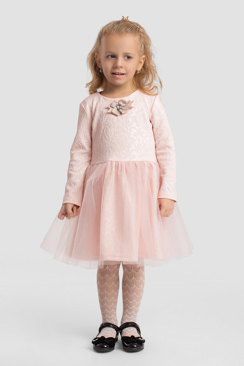 Платье LiLove 2-148-2 110-116 розовый