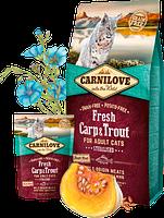 Корм Carnilove Fresh Carp & Trout Sterilised