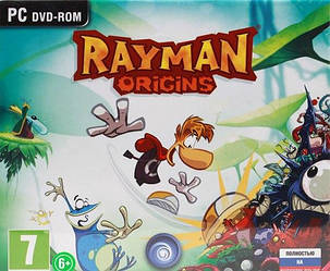 Комп'ютерна гра Rayman Origins (2012) PC) original