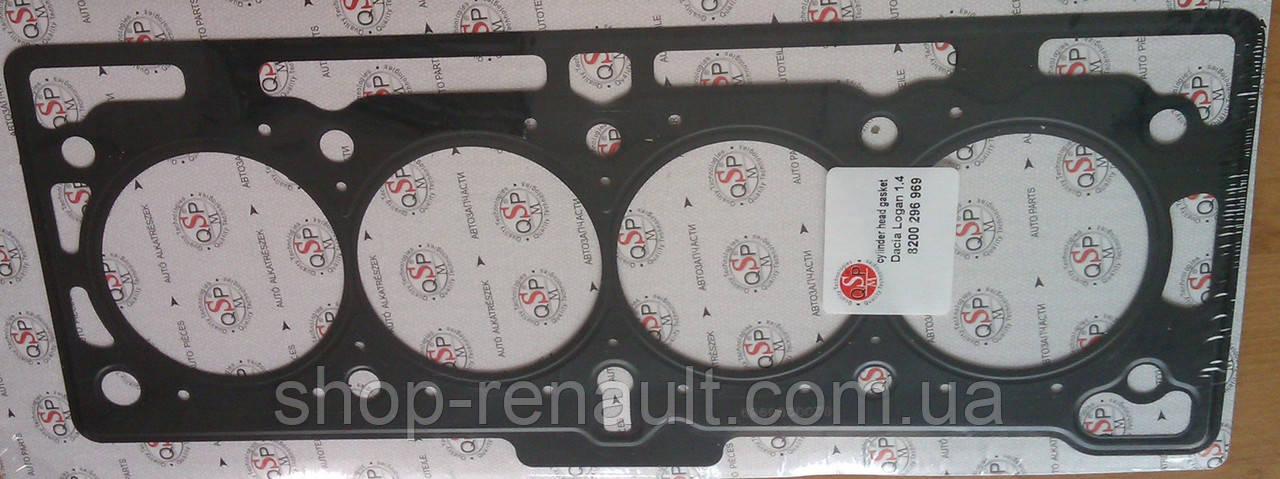 Прокладка головки блока цилиндров 1.4-1.6 MPI Logan/MCV/Sandero QSP-M
