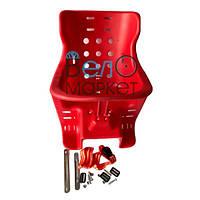 Кресло детское пластиковое (красное)