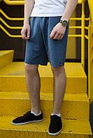 Шорты цвета джинс