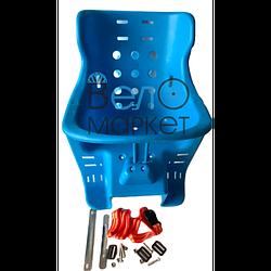 Крісло дитяче пластикове (синє)