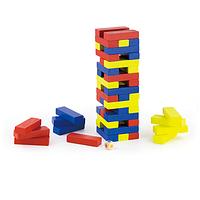 Деревянная игрушка Башня цветная в коробке  VigaToys