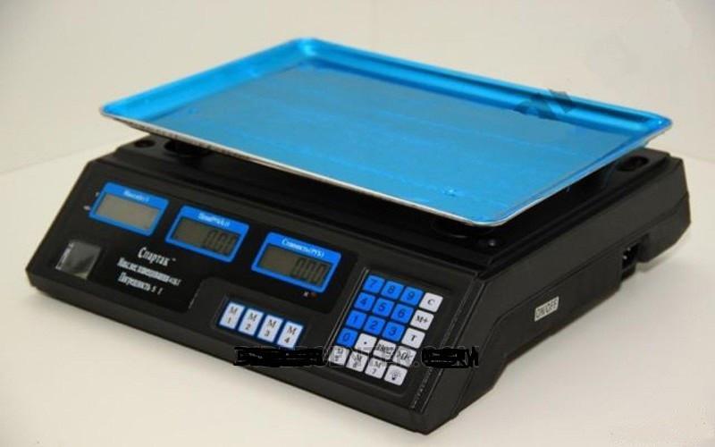 Торговые настольные электронные Весы ACS 50KG Matrix 410