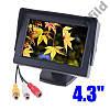 """Монитор автомобильный авто для камеры заднего вида TFT LCD экран 4,3"""" Дисплей LCD 4.3', фото 2"""