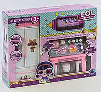"""Набор мебели для куклы LOL """"Кухня"""" + капсула LOL арт. 3040B"""