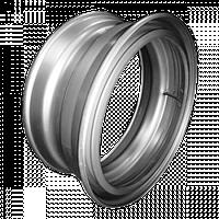 Диск под клинья-прижимы на простой КамАЗ, задние оси, спаренные колеса R22.5х7.5