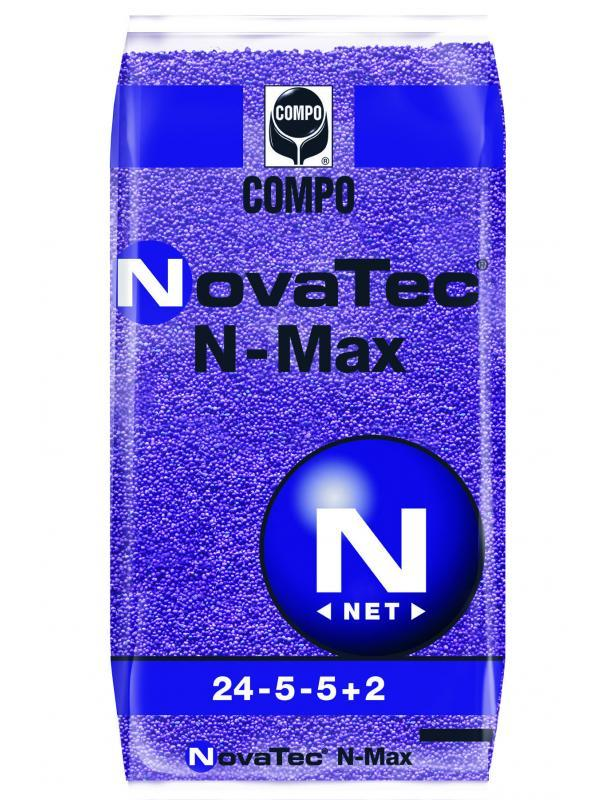 Комплексное минеральное удобрение для газона NovaTec N-Max (НоваТек Н-Макс), 25кг, NPK 24-5-5+ME, Весна-Старт