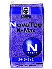 Комплексне мінеральне добриво для газону NovaTec N-Max (НоваТек Н-Макс), 25кг, NPK 24-5-5+ME, Весна-Старт