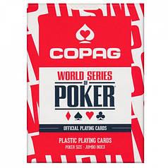Пластикові гральні карти | Copag WSOP Red