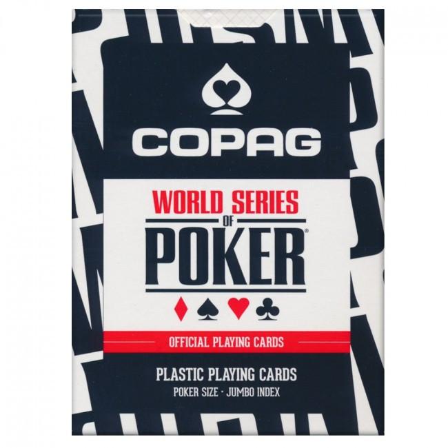 Пластикові гральні карти | Copag WSOP Black