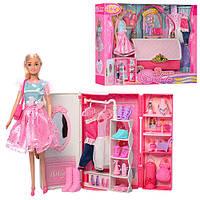 Гардеробная (шкаф) для куклы арт. 99046