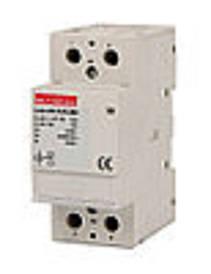 Модульний контактор e.mc.220.2.63.2 NO, 2р, 63А, 2NO, 220 В