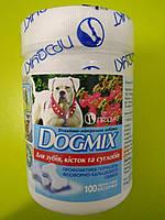 Витамины для собак Догмикс для зубов, костей и суставов, уп.-100 табл
