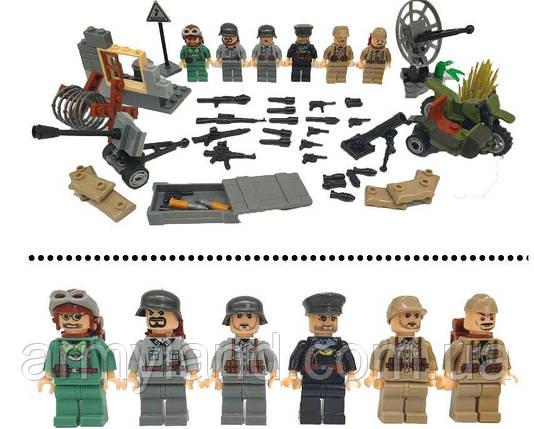 Германия, защита квартала, Worlf of War II военный конструктор , аналог лего, BrickArms, фото 2