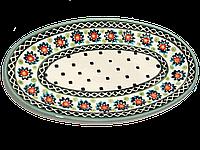 Блюдо сервировочное плоское овальное маленькое , фото 1