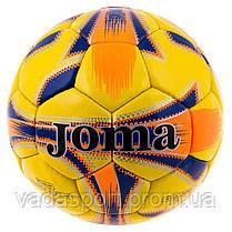 Мяч футбольный JM-4, DXN YW, красно/синий