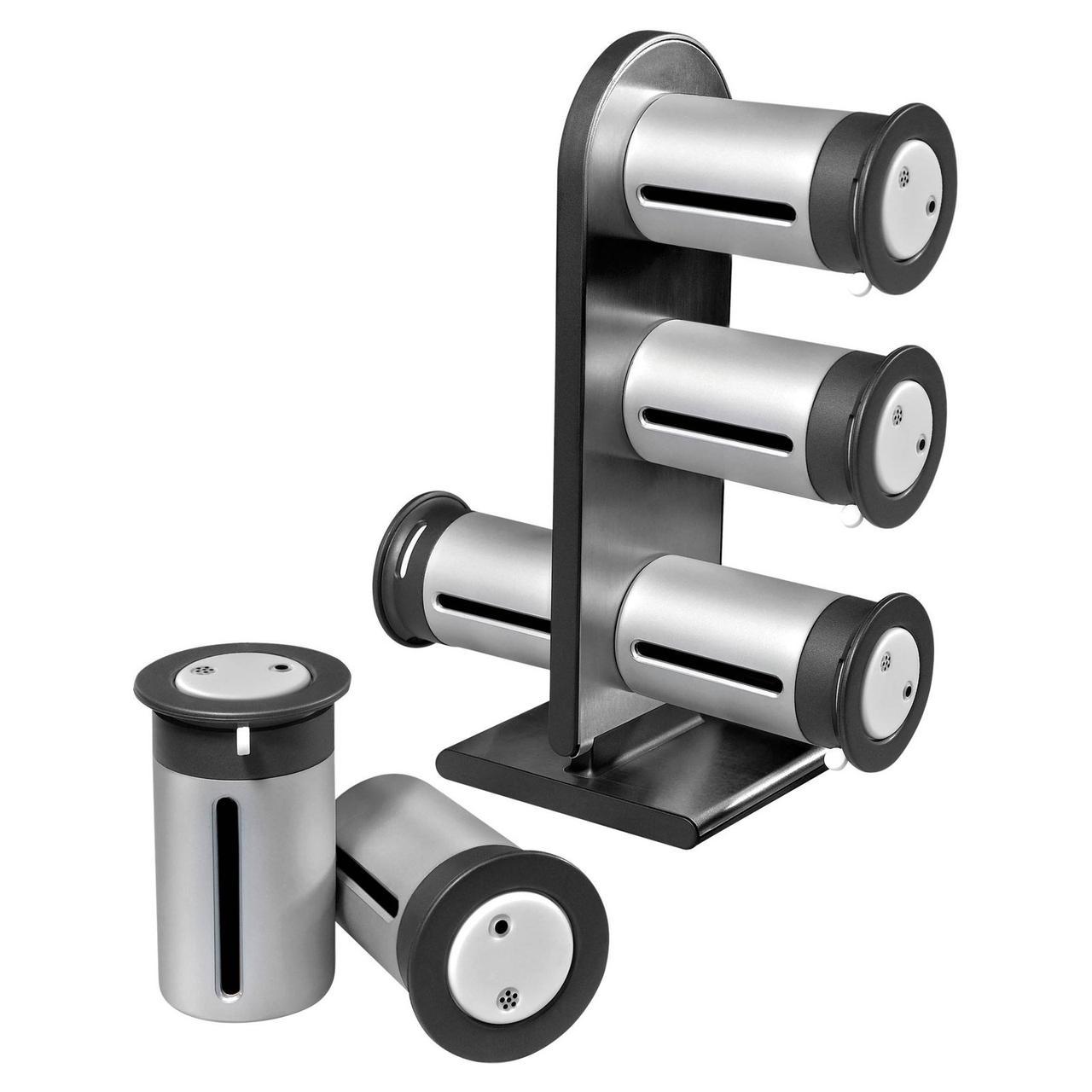 Набор контейнеров для специй Zevgo Magnetic Spice Stand