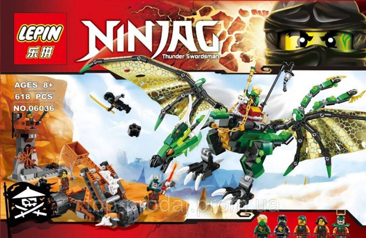 Конструктор NINJA 06036, конструктор детский, набор для детей, игра