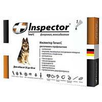 Инспектор Тотал С для собак 25-40 кг