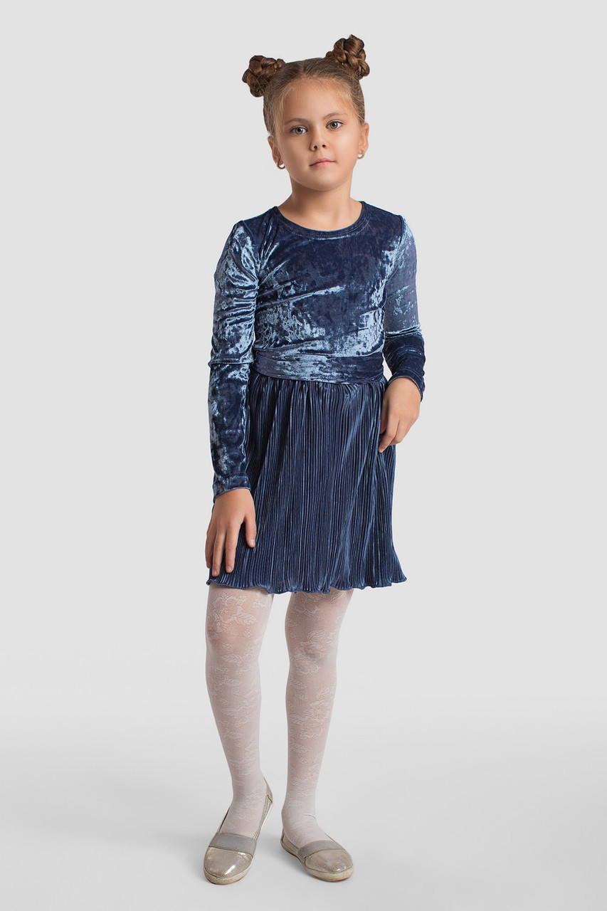Платье LiLove 2-143 134 синий