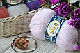 Nako Mohair Delicate, Светло-сиреневый №06135, фото 7