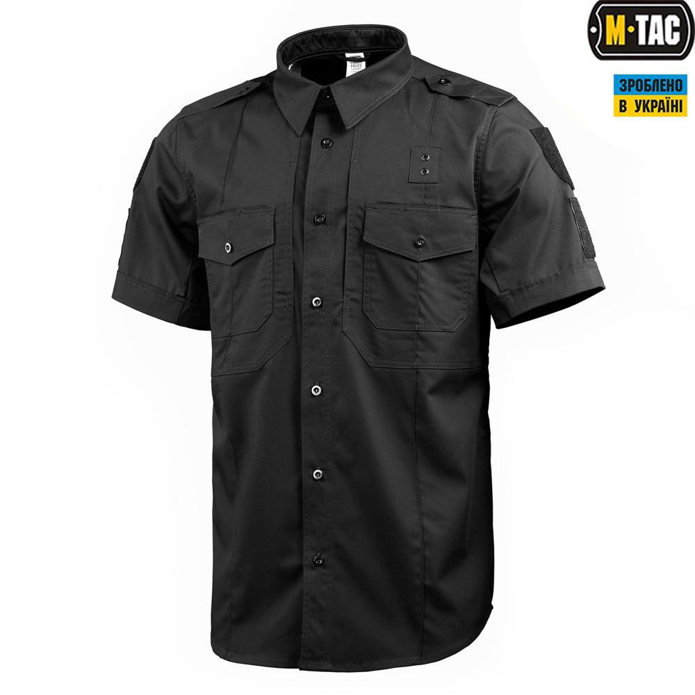 6e248c0706c M-Tac рубашка с коротким рукавом Police Flex Black  продажа