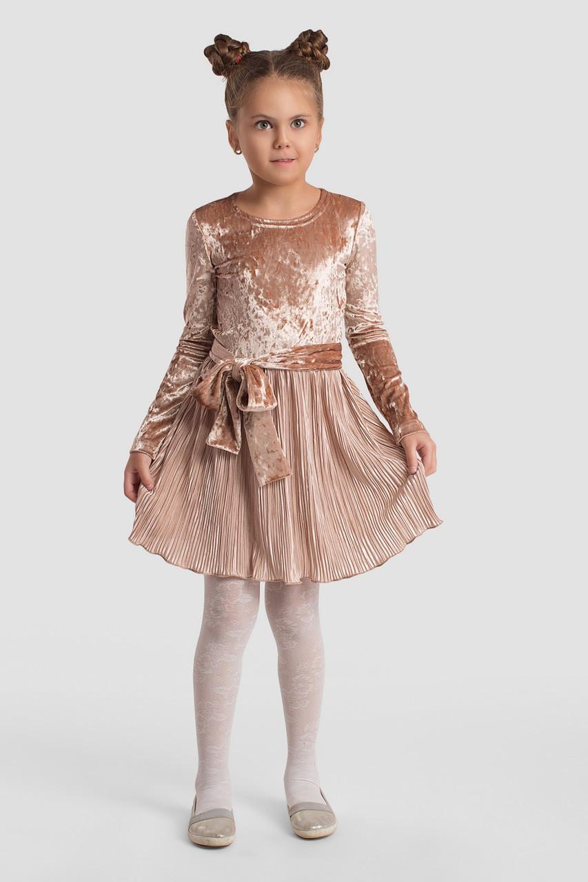 Платье LiLove 2-143-1 134 розовый