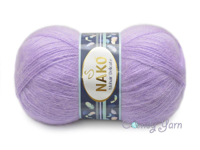 Nako Mohair Delicate, Светло-сиреневый №06135