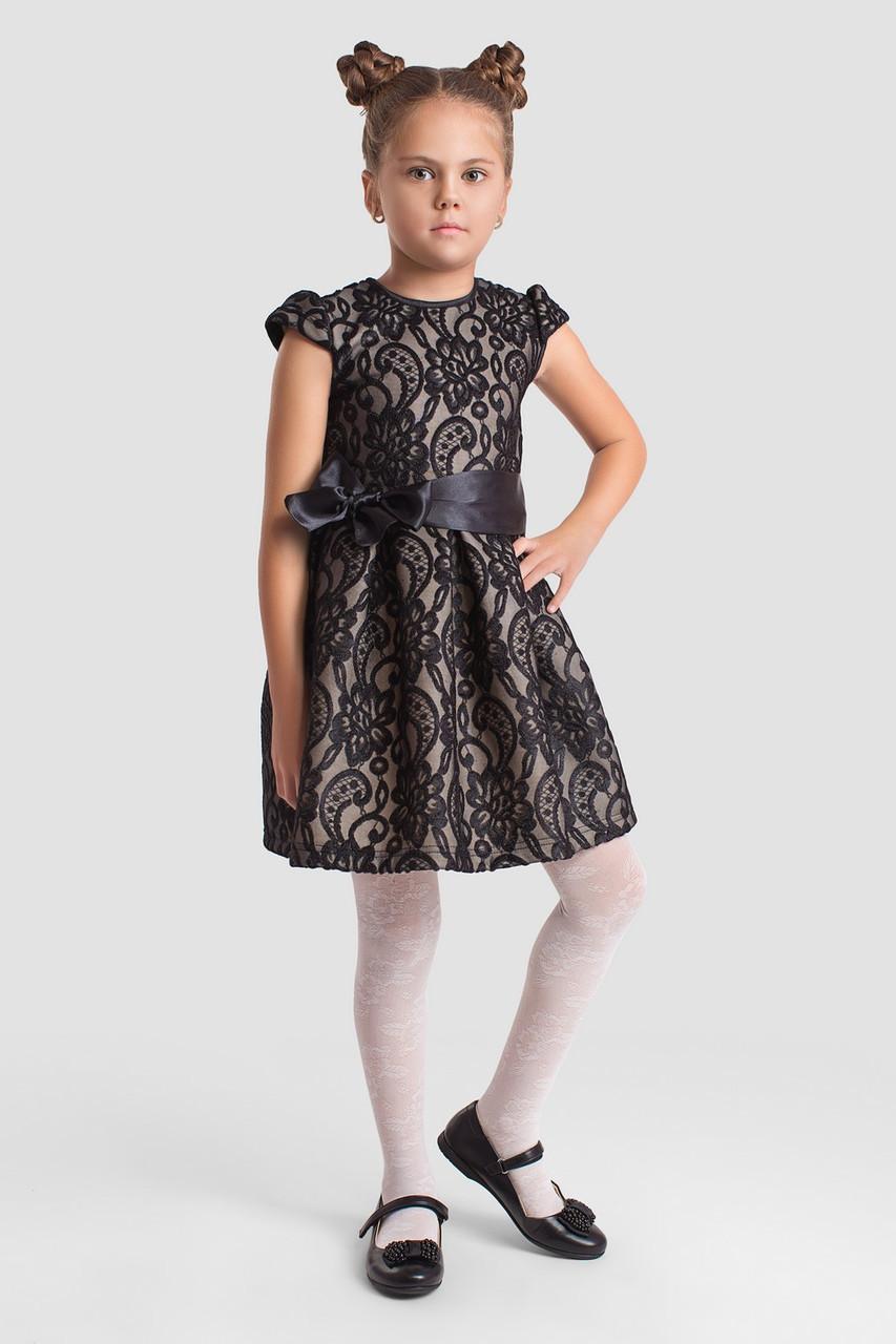 Платье LiLove 2-140 134 черный