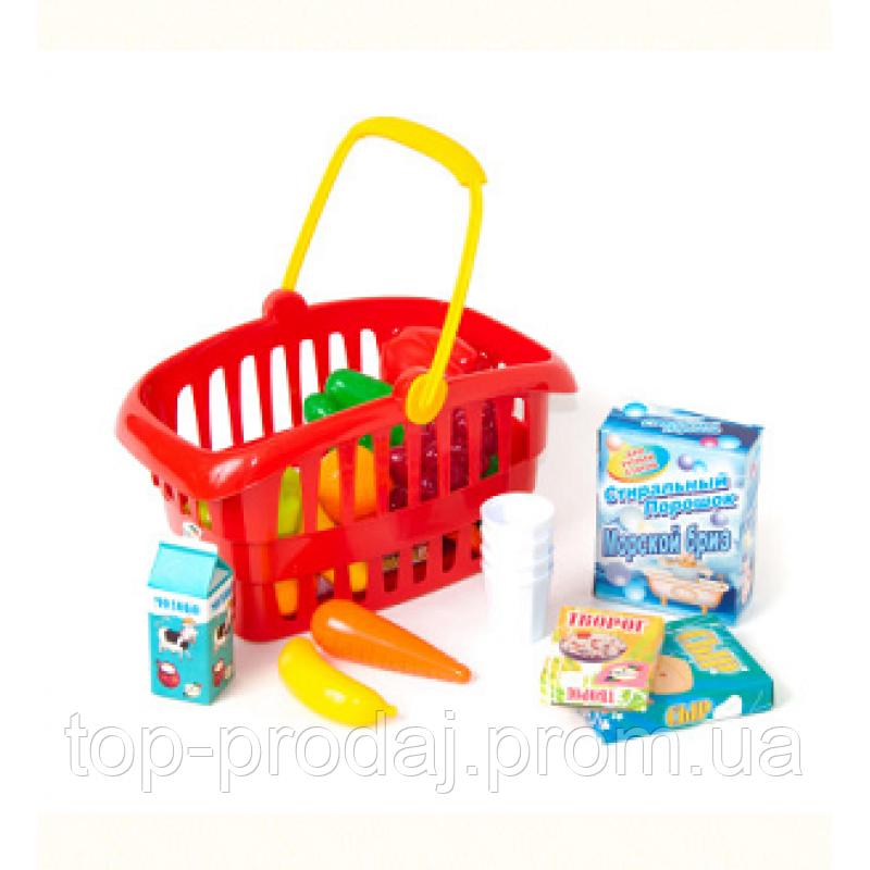 fa570a8ae Корзинка «Супермаркет» [Арт.362в2], детский игровой набор с продуктами