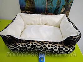Лежанка меховая «Чарли» для собак и кошек Коллар CoLLaR серии «Комфорт» №2 (0382)