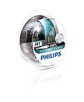 Комплект галогенных ламп PHILIPS 12258XVS2 H1 X-treme Vision SP 12V 55W