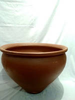 Цветочные горшки из глины больших размеров ( 300 литров) 40 грн./л