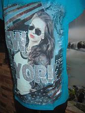 Стильная женская футболка, фото 2