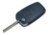 Заготовка FIAT выкидной ключ 2 кнопки (корпус)