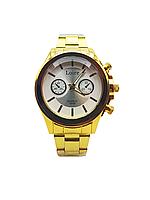 Часы наручные мужские кварцевые Loire,  Золотистый цвет