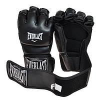 Перчатки для смешанных единоборств MMA (р-р S, L, XL, черный)