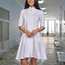 Жіночий медичний халат Фаїна батист, р. 42-50