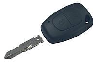 Заготовка ключа RENAULT 2 кнопки (корпус), лезвие NE73, фото 1
