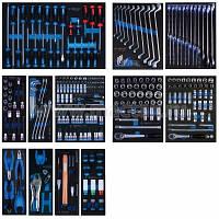 Набор  инструментов для тележки 286 пр.(Ложементы)  (EVA ложемент)
