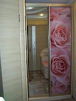 """Шкаф-купе """"Розовые розы"""""""
