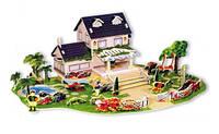 """Пазлы 3D картон """"Мой любимый дом"""""""