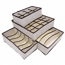 Набор органайзеров для белья 4 шт., фото 3